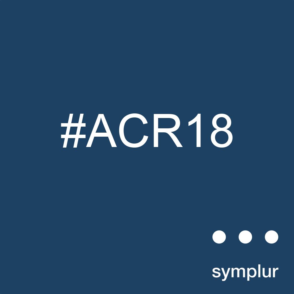 ACR18 - 2018 ACR/ARHP Annual Meeting - Social Media Analytics and