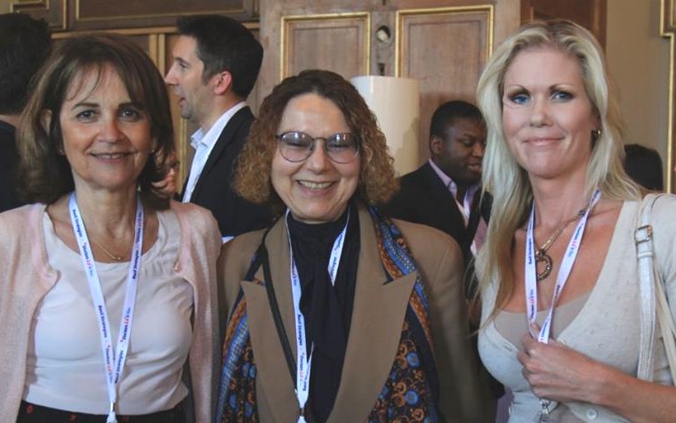 Denise Silber, Andrea Borondy Kitts, and Vanessa Carter at Doctors 2.0
