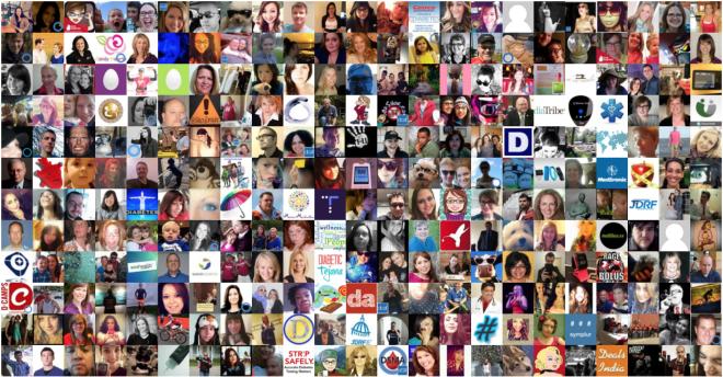 #dayofdiabetes profile images