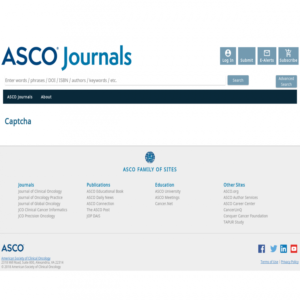 A healthcare social media research article published in ASCO Educational Book, May 22, 2018
