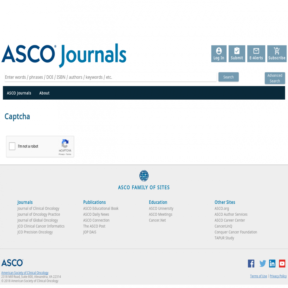 A healthcare social media research article published in Journal of Oncology Practice, November 30, 2018