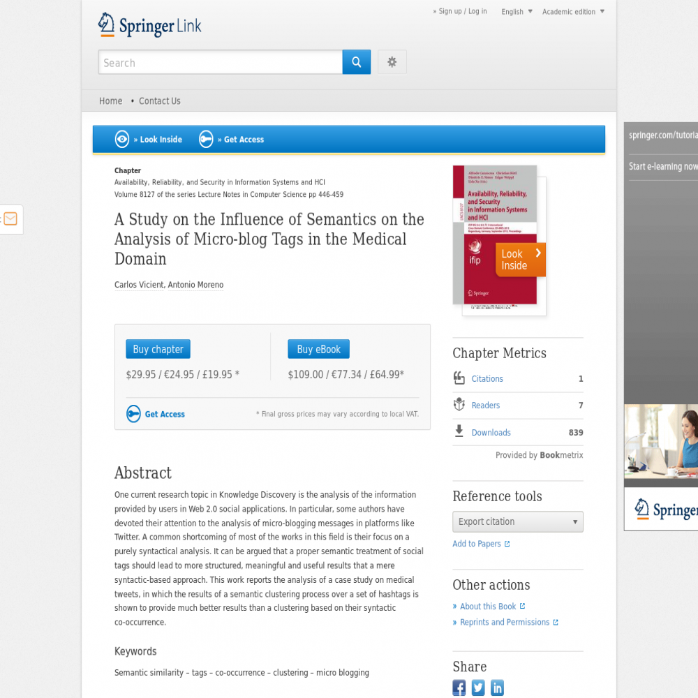 Healthcare social media research published in 2013