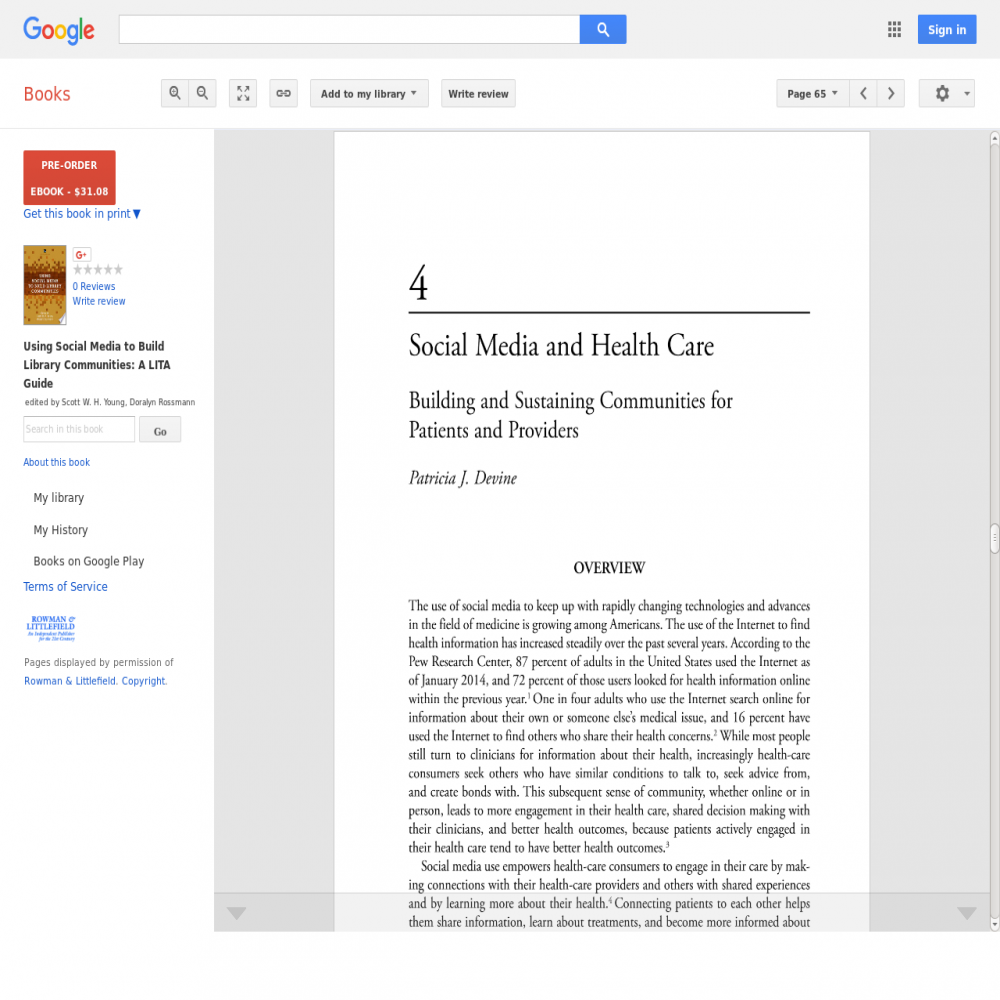 Healthcare social media research published in 2017